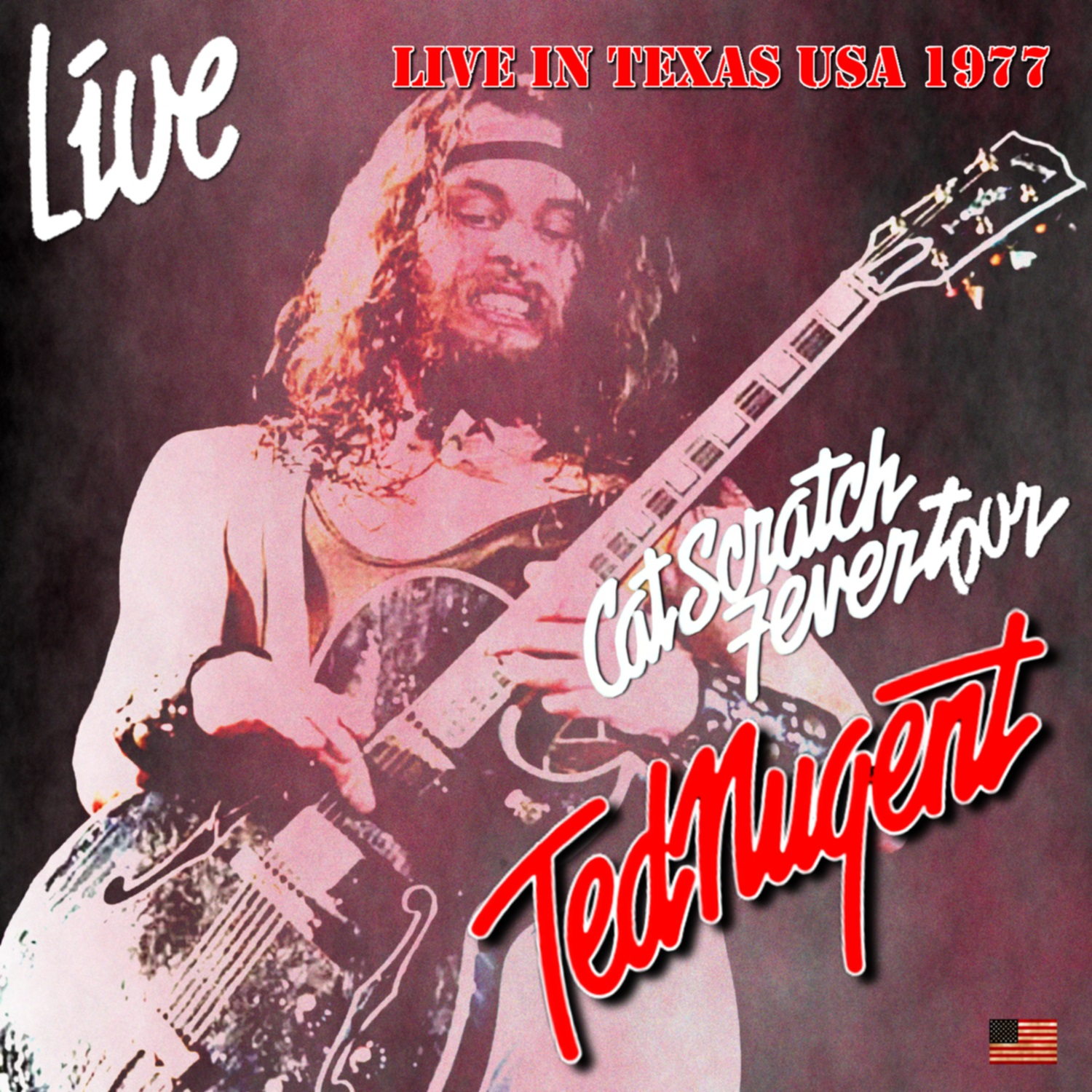 コレクターズCD Ted Nugent - Cat Scratch Fever US Tour 1977