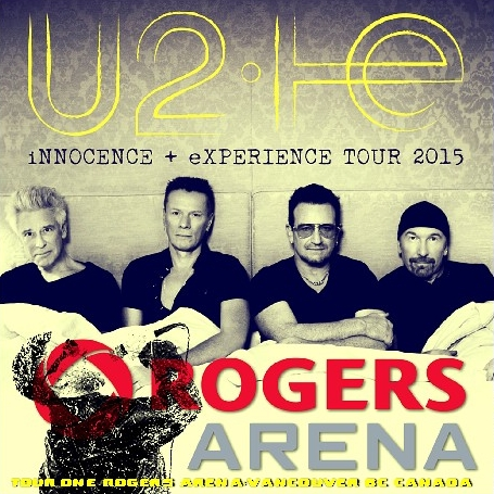 コレクターズCD U2(ユートゥー)2015年ワールドツアー Innocence + Experience Tour