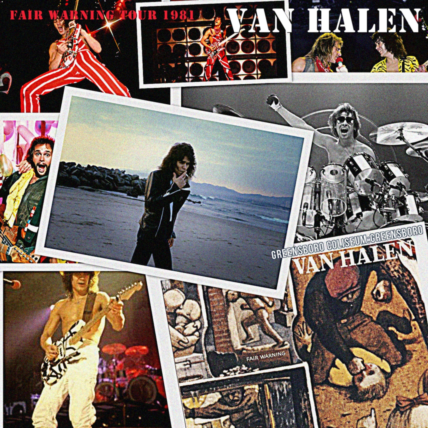 コレクターズCD Van Halen - Fair Warning Tour 1981