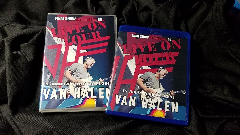 コレクターズBlu-ray  Van Halen - North American Tour 2015 Final