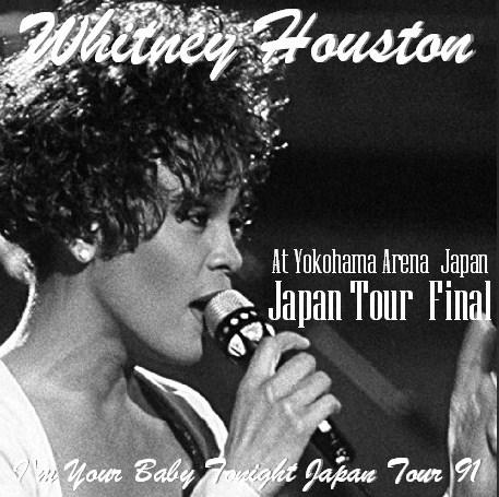 コレクターズCD ホイットニー・ヒューストン(Whitney Houston)91年 日本公演