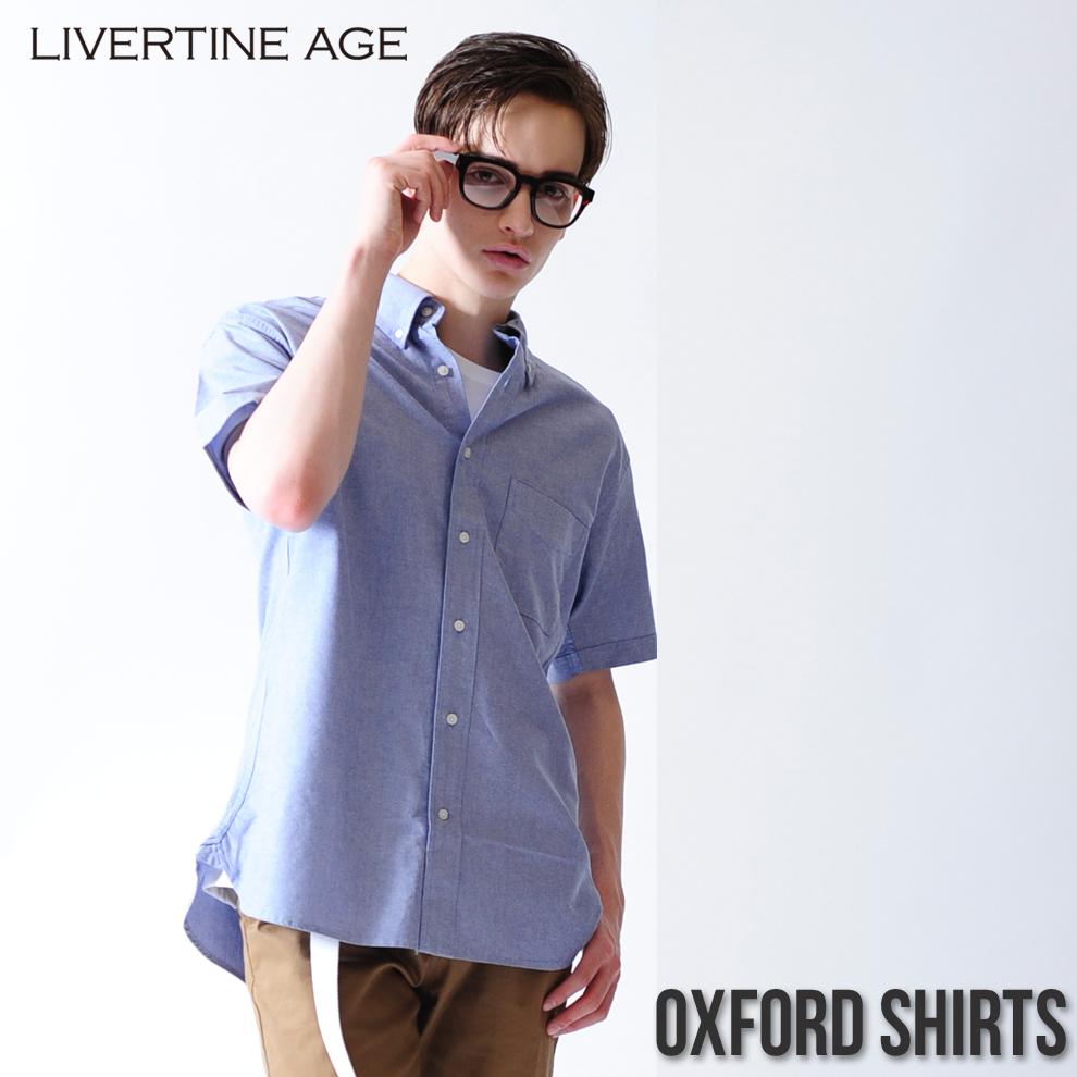 LIVERTINE AGE オックスフォードシャツ