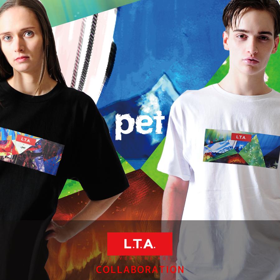 【完全受注限定生産】TVアニメ「pet」×LIVERTINEAGEコラボTシャツ