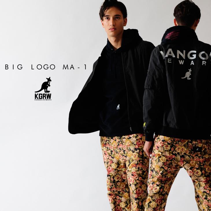 【予約商品】KANGOL REWARD BIG LOGO MA-1