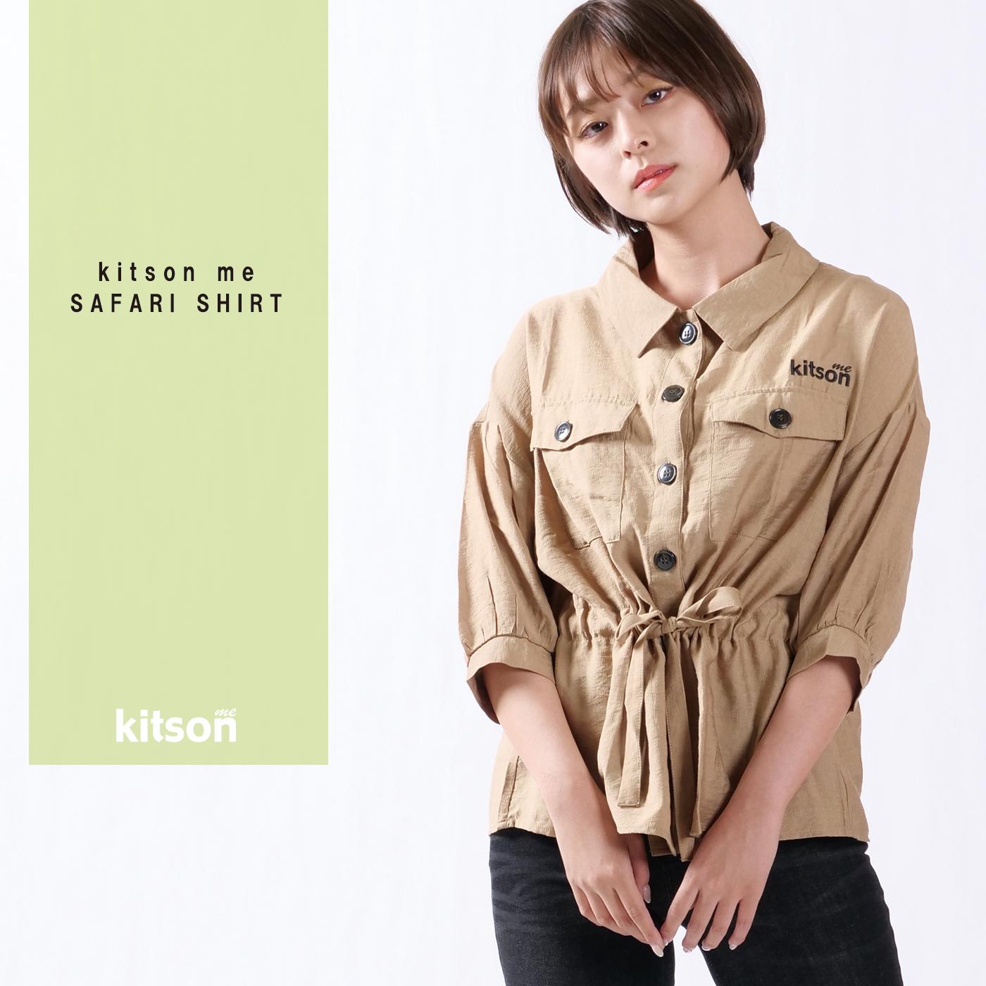 kitson me サファリシャツ