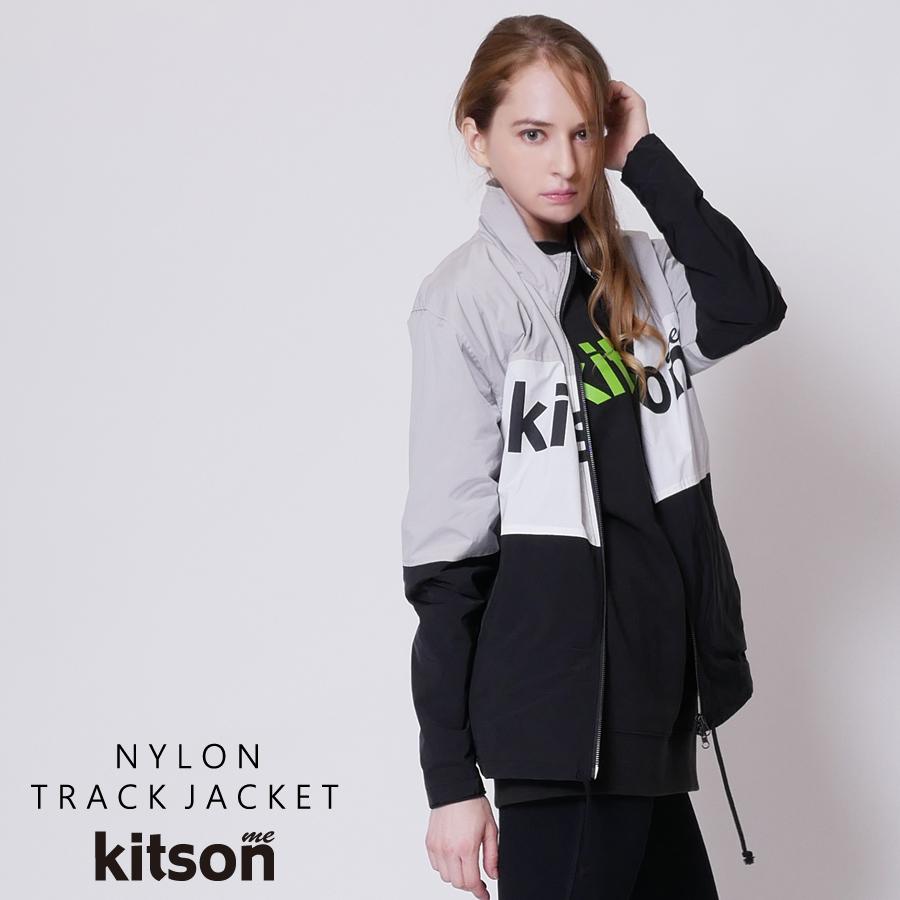 kitson me  ナイロントラックジャケット