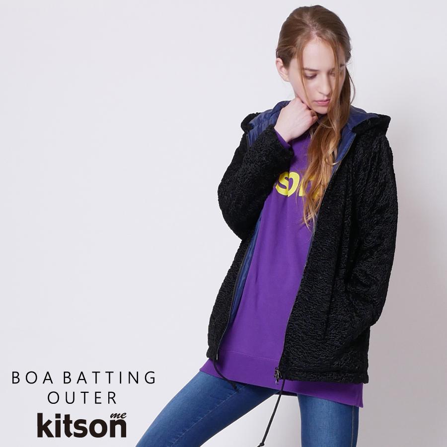 kitson me  ボア中綿アウター