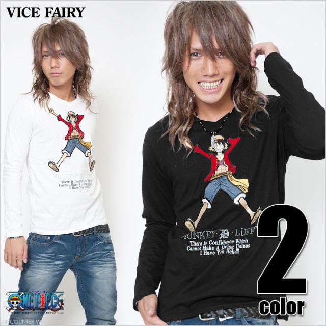 3DルフィVネックロングTEE【VICE FAIRY】