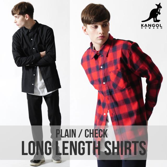 KANGOL REWARD ロングシャツ