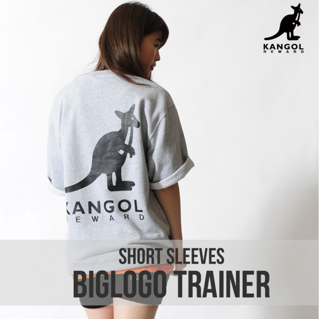 KANGOL REWARD ビッグロゴ半袖トレーナー
