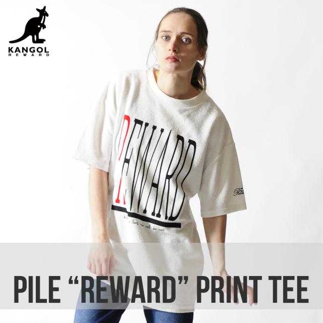 KANGOL REWARDクルーネック半袖Tシャツ◆REWARD◆
