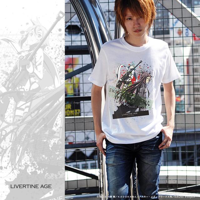 【完全第2回予約受注生産】SWORD ART ONLINE II TYPE:MECHANICAL FLUCTUATION Tシャツ◆コラボ メンズ Tシャツ レディース【2015年3月上旬より順次発送】