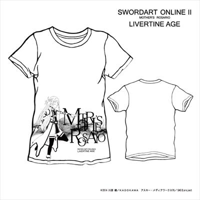【完全予約受注生産】ソードアート・オンラインII SWORD ART ONLINE II TYPE:WAVER Tシャツ◆コラボ メンズ Tシャツ レディース SAO2 ソードアート・オンライン 【5月上旬から5月中旬より順次発送】