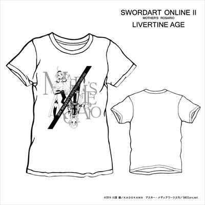 【完全予約受注生産】ソードアート・オンラインII SWORD ART ONLINE II TYPE:COUNTER Tシャツ◆コラボ メンズ Tシャツ レディース SAO2 ソードアート・オンライン 【5月上旬から5月中旬より順次発送】