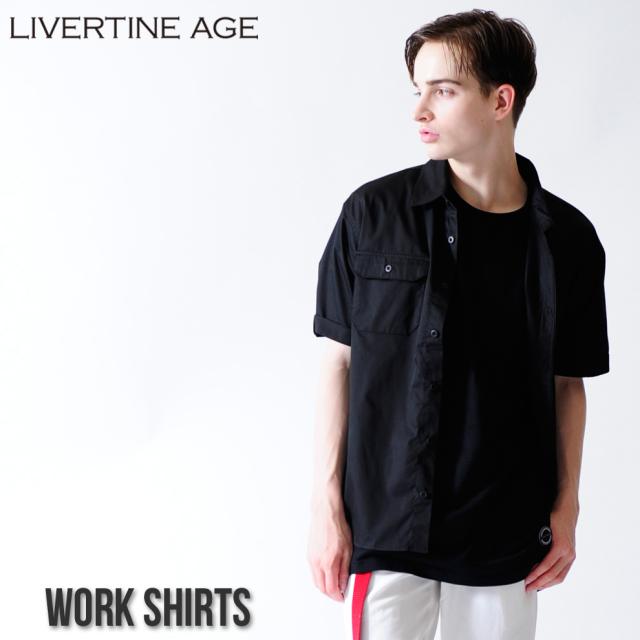 LIVERTINE AGE ワークシャツ