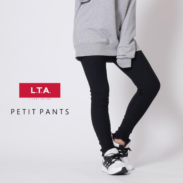 LTA ロゴ刺繍ペチパンツ