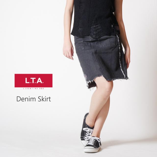 LTA デニムスカート
