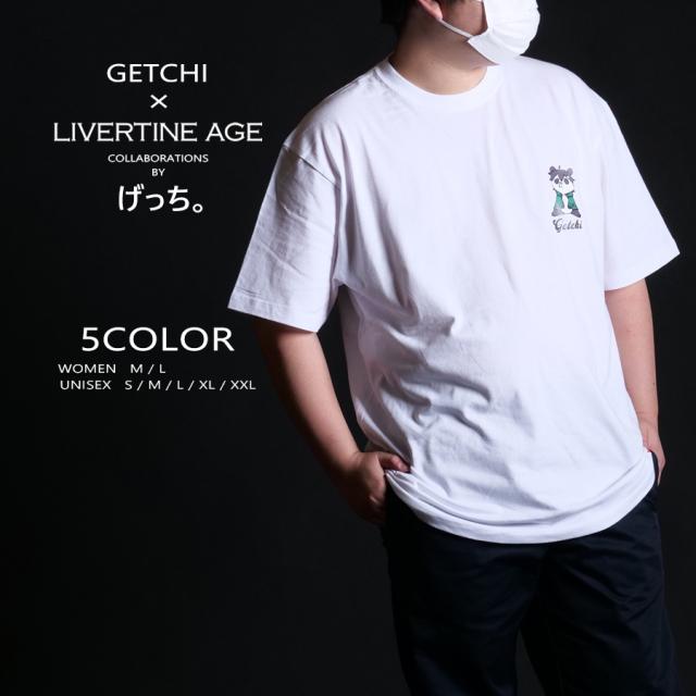 受注期間限定!げっち。コラボ企画!コラボ半袖Tシャツ◆げっち。