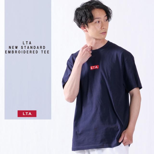 LTA NEW STANDARD 刺繍半袖Tシャツ