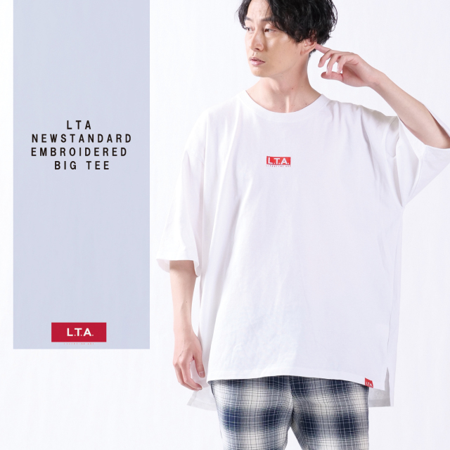 LTA NEW STANDARD 刺繍ビッグシルエットTシャツ