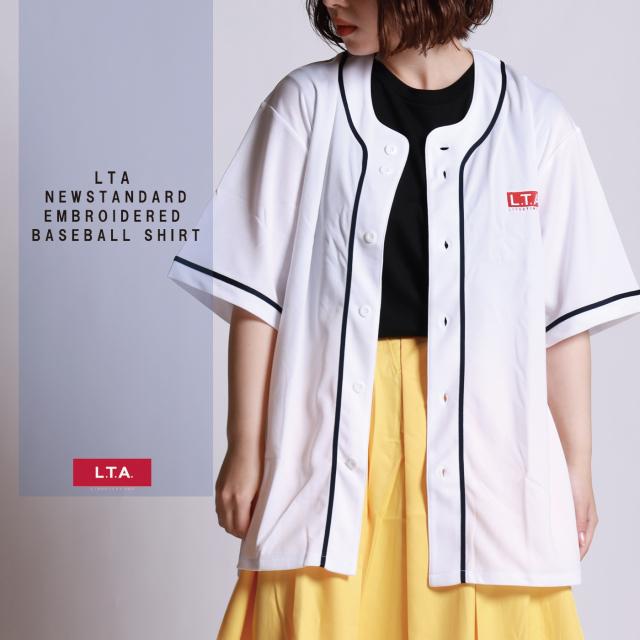 LTA NEW STANDARD 刺繍ベースボールシャツ