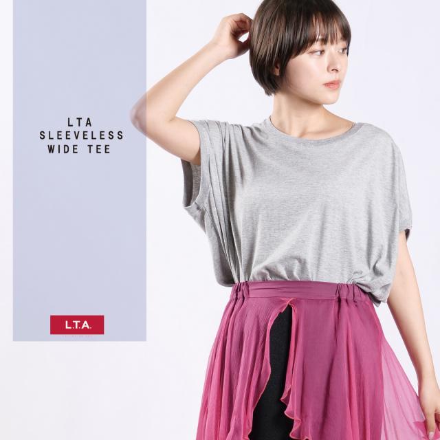LTA スリーブレスワイドTシャツ