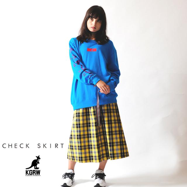【予約商品】KANGOL REWARD チェックスカート