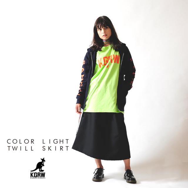 【予約商品】KANGOL REWARD カラーライトツイルスカート