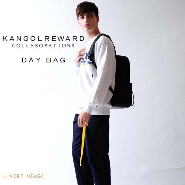 LIVERTINE AGE × KANGOL REWARD コラボレーション デイバッグ