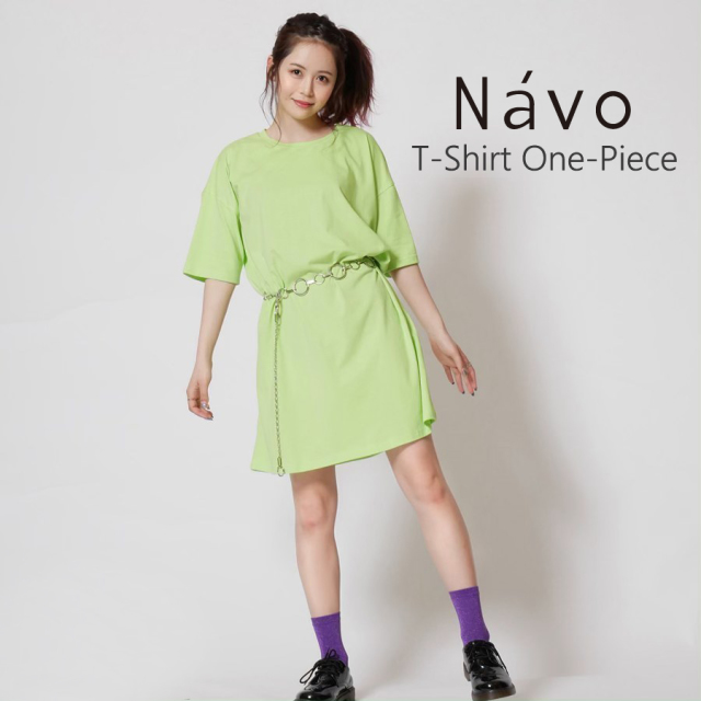 Navo Tシャツワンピース◆