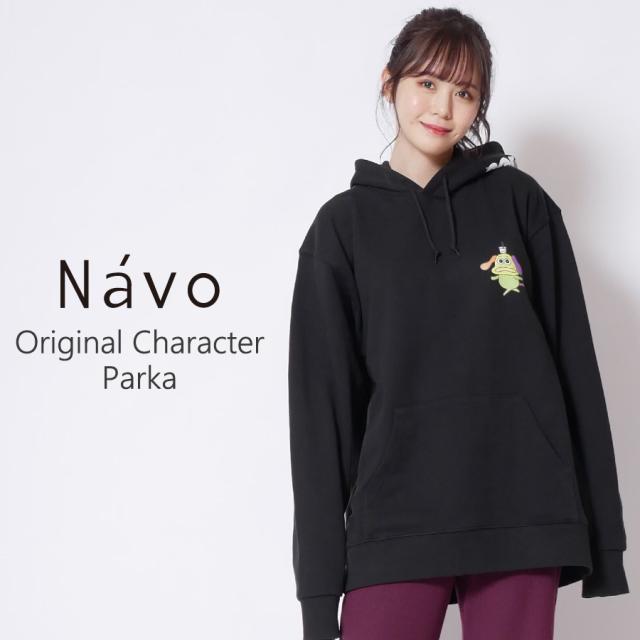 Navoキャラクターパーカー◆