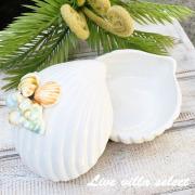 シェル型陶器の小物入れ S3-303085