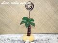 【ハワイアン】□ヤシの木アイアンカードホルダー 181024