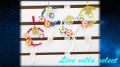 【アジアン】お月様と星のドリームキャッチャー103417