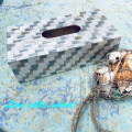 シェル(貝)のティッシュボックスブルーミックス 156003BM