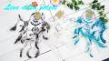 【アジアン】□シルバーミックスドリームキャッチャーSサイズ103181