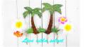 【アジアン】◆ヤシの木のアイアンフック AO-103348