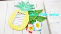 【ハワイアン】◆パイナップルのミラー M-103297