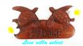 【ハワイアン】◆ホヌのウェルカムボード W-102716a