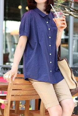 【SALE】ベーシックなデザイン!コデズ半袖シャツ