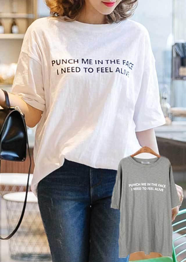【SALE】TP12501/シンプルですっきり♪ユーニクな英文字ポイントTシャツ(カーキ/アイボリー)【Lサイズ LLサイズ 3Lサイズ 4Lサイズ】