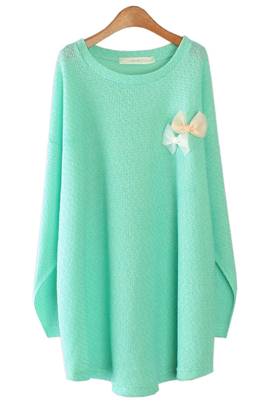 【SALE】3639 ビビッドリボンTシャツ(ミント/ピンク/イエロー/ブラック)