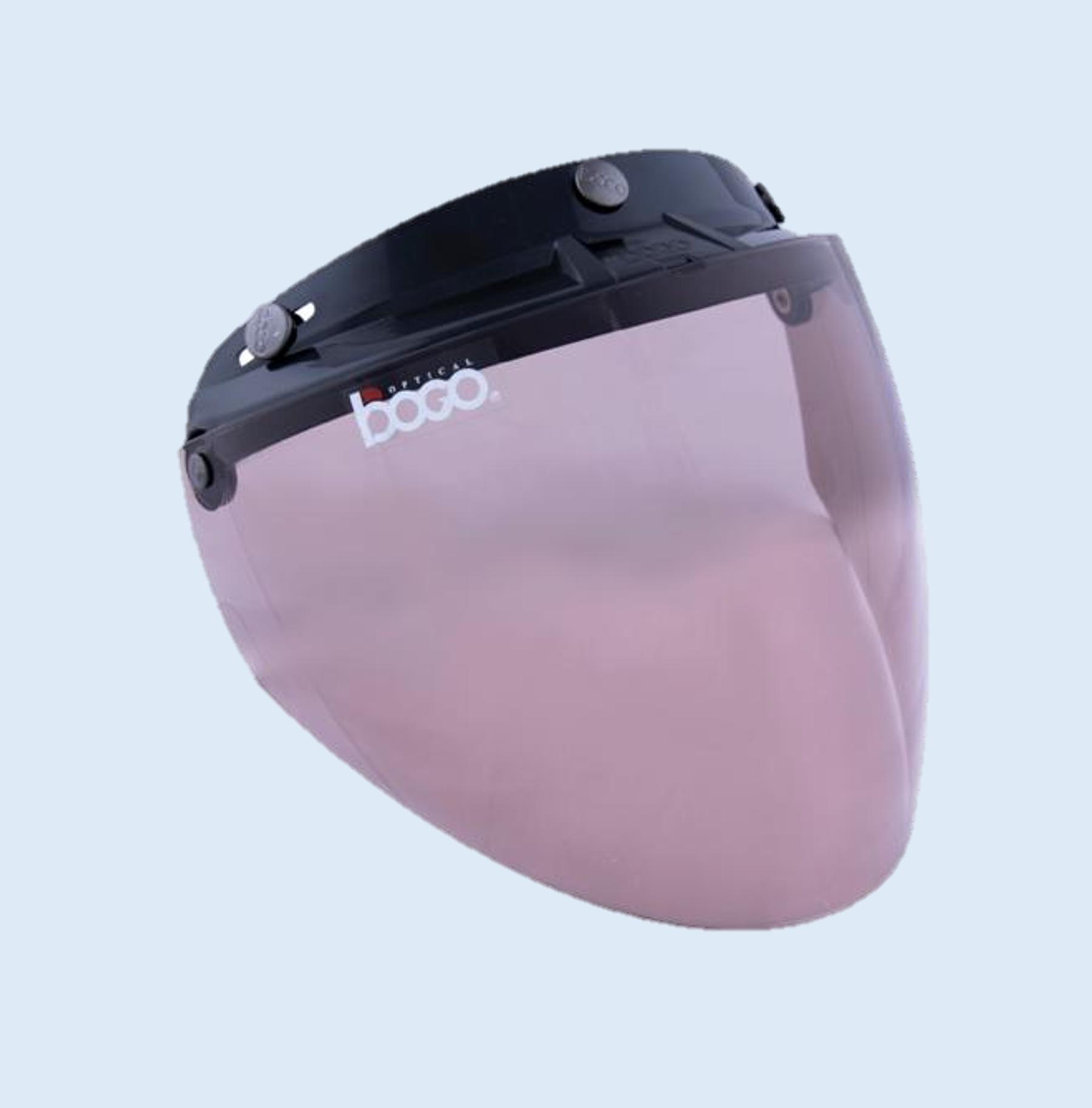 BOGO ジェットシールド フリップアップ 開閉式 ベース付き ブロンズ BG25-B1