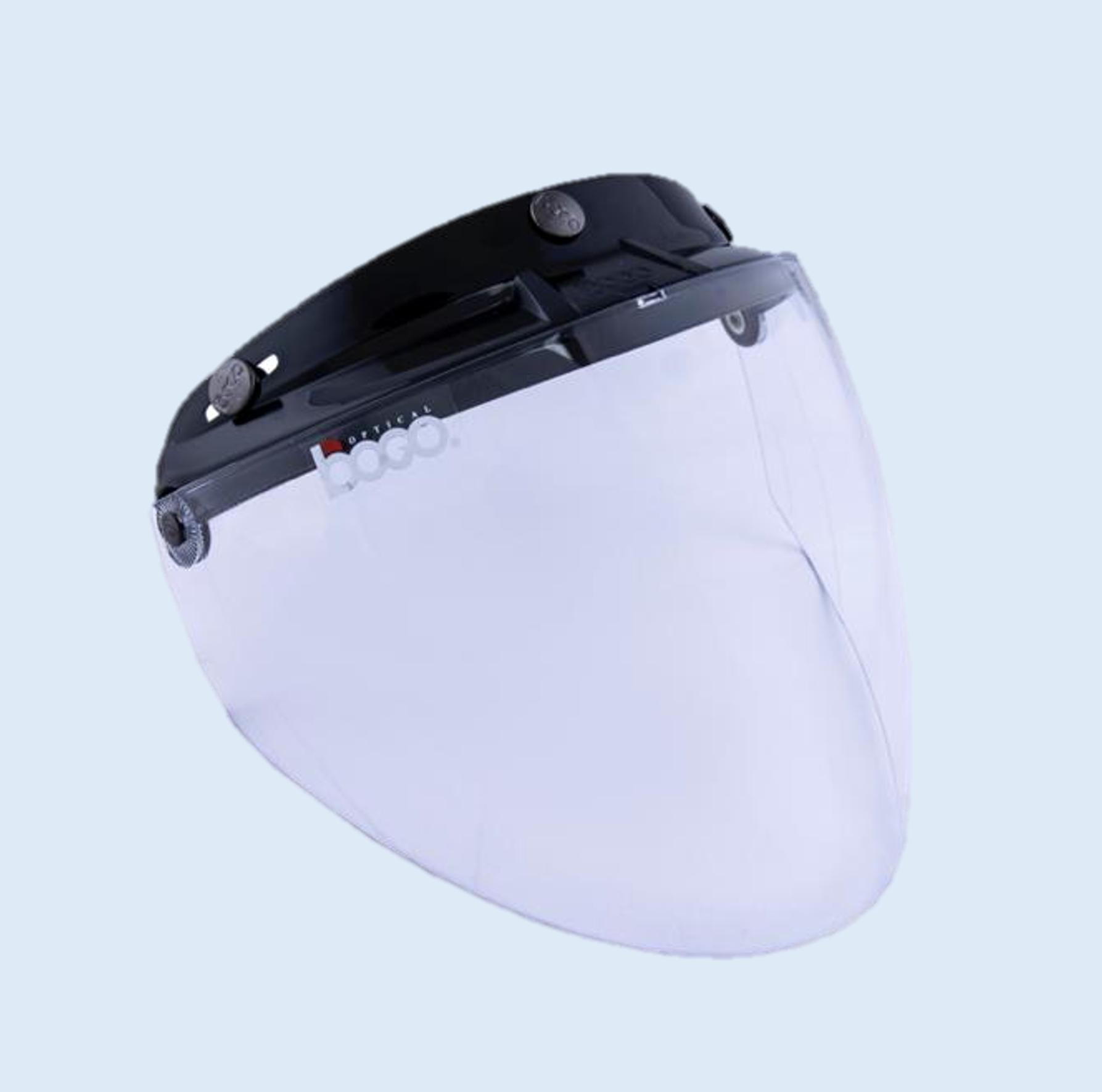 BOGO ジェットシールド フリップアップ 開閉式 ベース付き クリアー BG25-B2