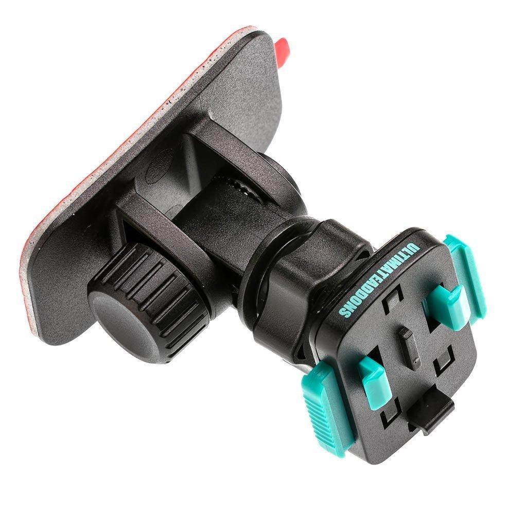 UA(ユーエー)専用 クイック リリースマウント3M 粘着テープ 対応 マウントヘッド 360度回転可 取付工具不要 ※ホルダー別売 UA-3M180