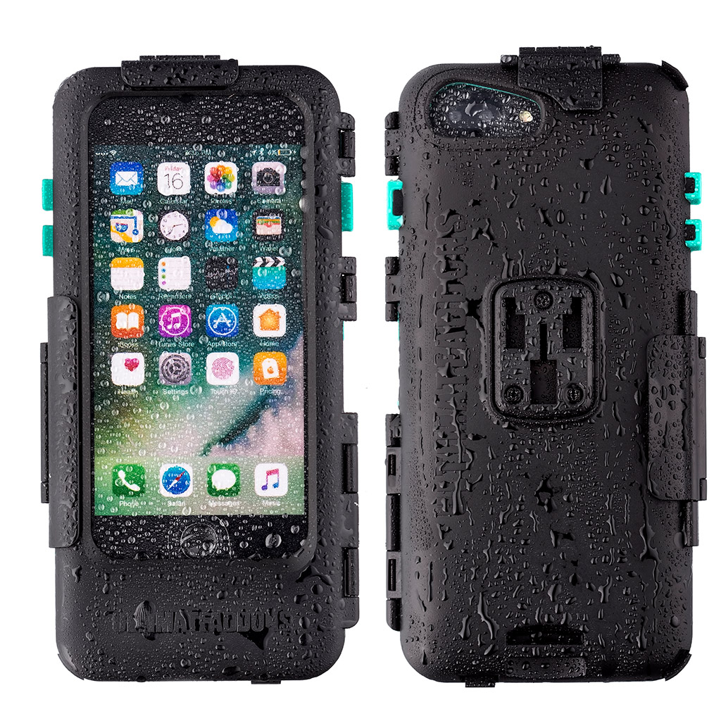 [会員セール価格] UA(ユーエー)iPhone Plus専用 ハードケース バイク 自転車 アウトドア 防水防塵耐震(IPX5) iPhone 6 Plus / 6S Plus / 7 Plus / 8 Plus 専用設計 ※マウント別売 UA-HARDWPI7PLUS
