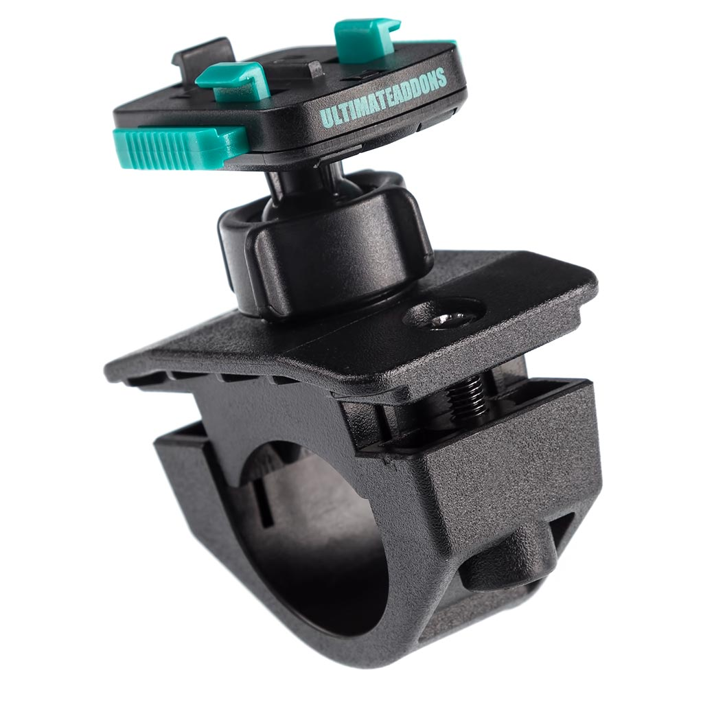 UA(ユーエー)専用 クイック リリースマウント 直径 19-33mm 対応 ボールタイプ 左右上下360度回転可 ※ホルダー別売 UA-PROBIKE