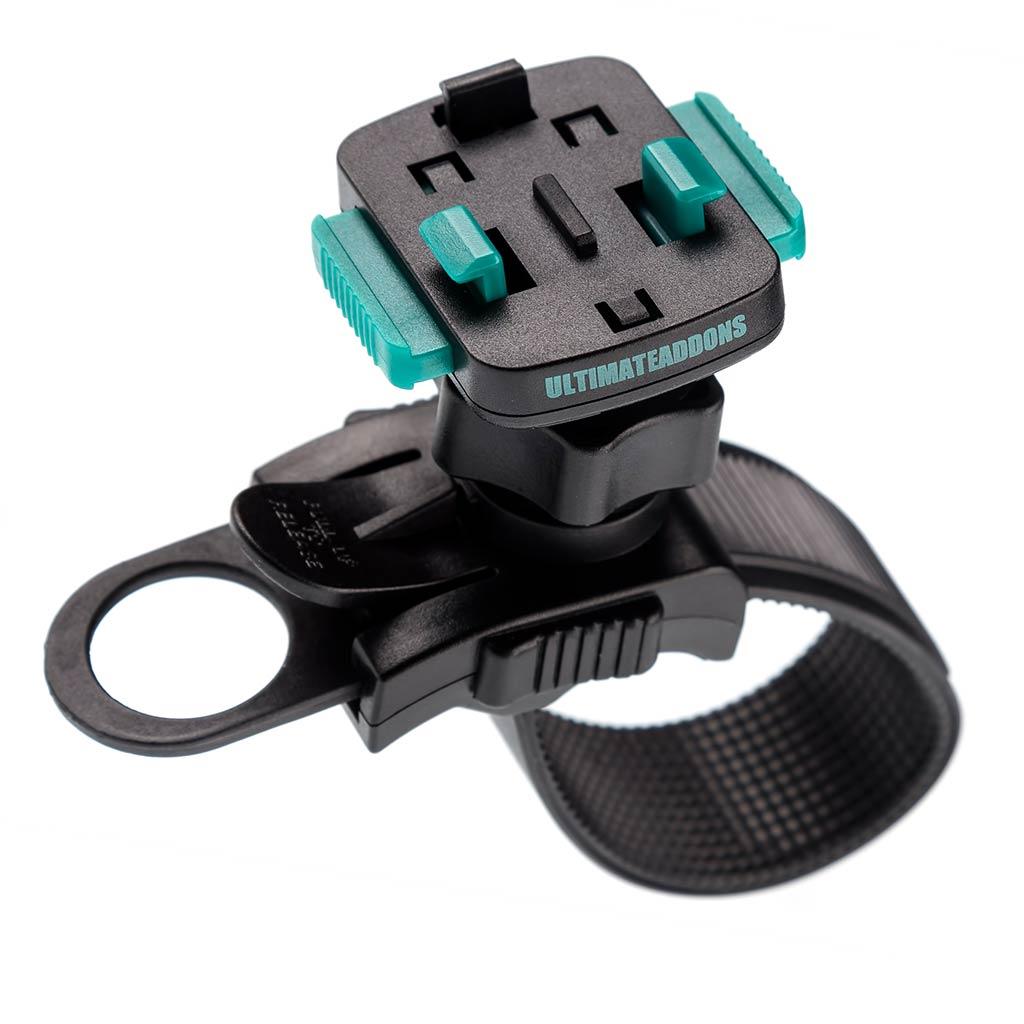 [会員セール価格] UA(ユーエー)専用 クイック リリースマウント 直径 21-40mm 対応 左右360度回転可 取付工具不要 ※ホルダー別売 UA-STRAP