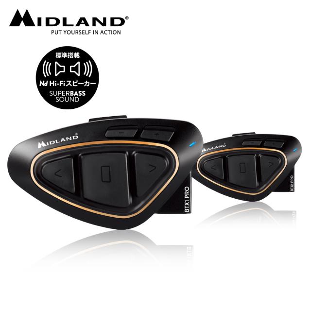 MIDLAND(ミッドランド) インカム BT X1 PRO Hi-Fiツイン C1230.14