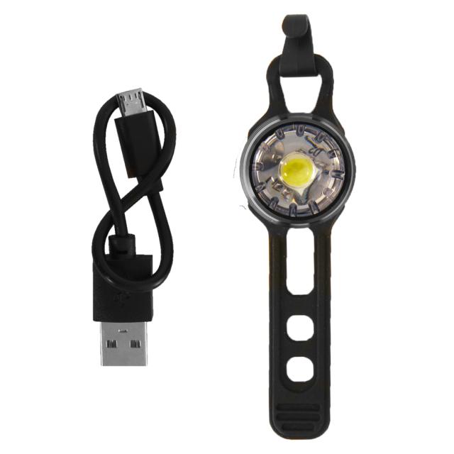 自転車LEDライト USB充電式 ブライトスポットUSBセット LD714B